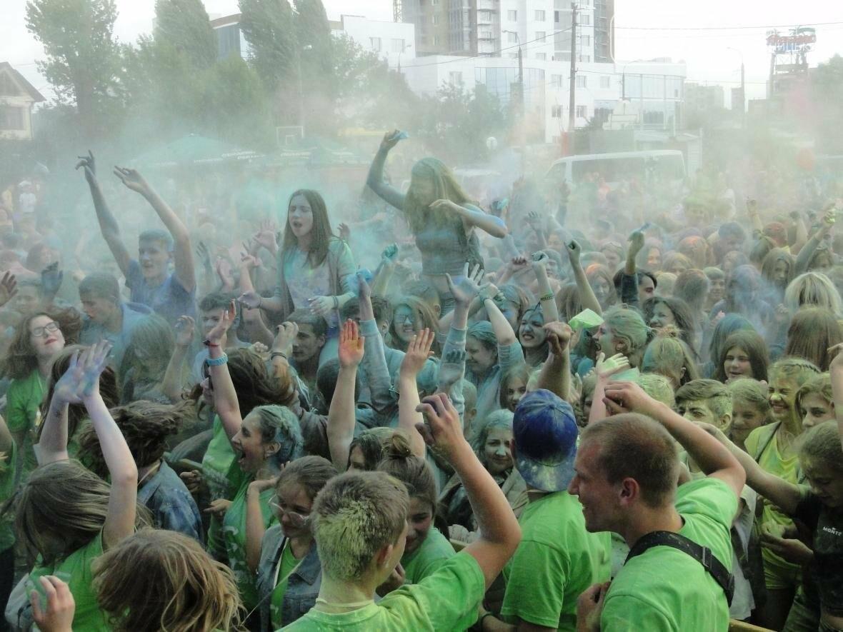 Яскраві миті на Green Fest: фарби холі та пінна вечірка (Фото, Відео) , фото-2