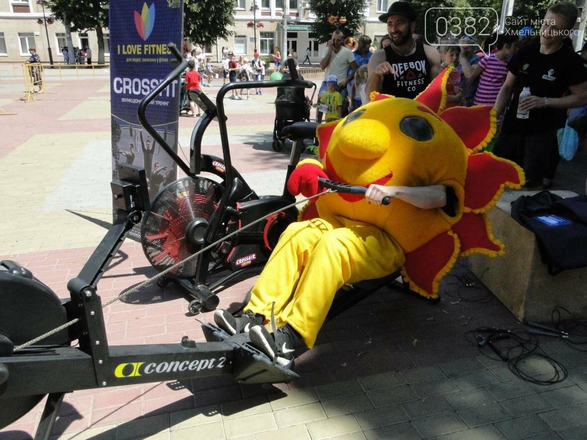 День здоров'я: у Хмельницькому сонце крутило педалі, а спортсмени влаштували майстер-класи (Фото, Відео), фото-3