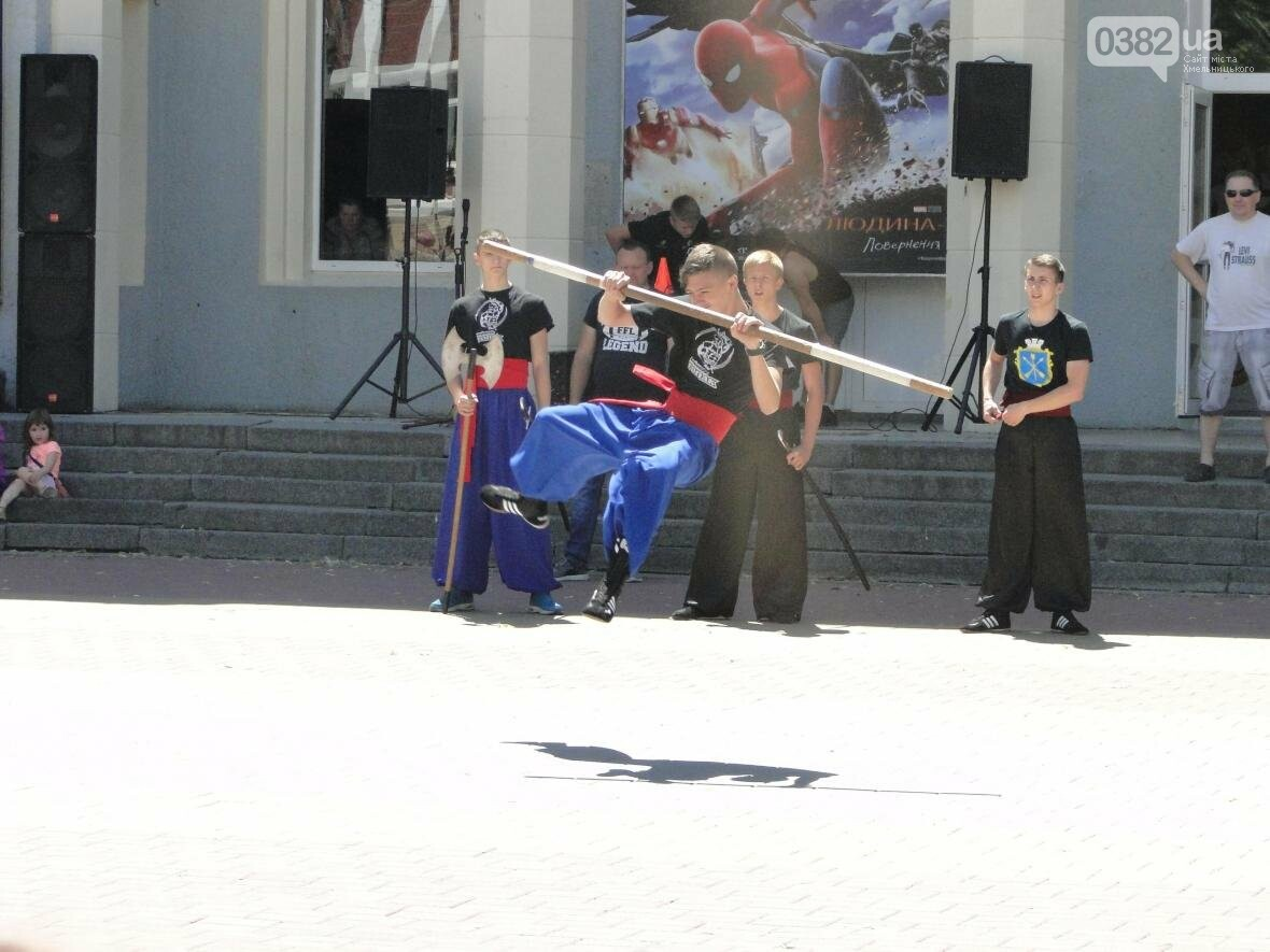 День здоров'я: у Хмельницькому сонце крутило педалі, а спортсмени влаштували майстер-класи (Фото, Відео), фото-6