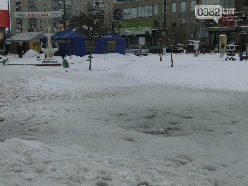 Гори снігу та заблоковані автошляхи: як виглядав Хмельницький рівно рік тому (Фото), фото-4