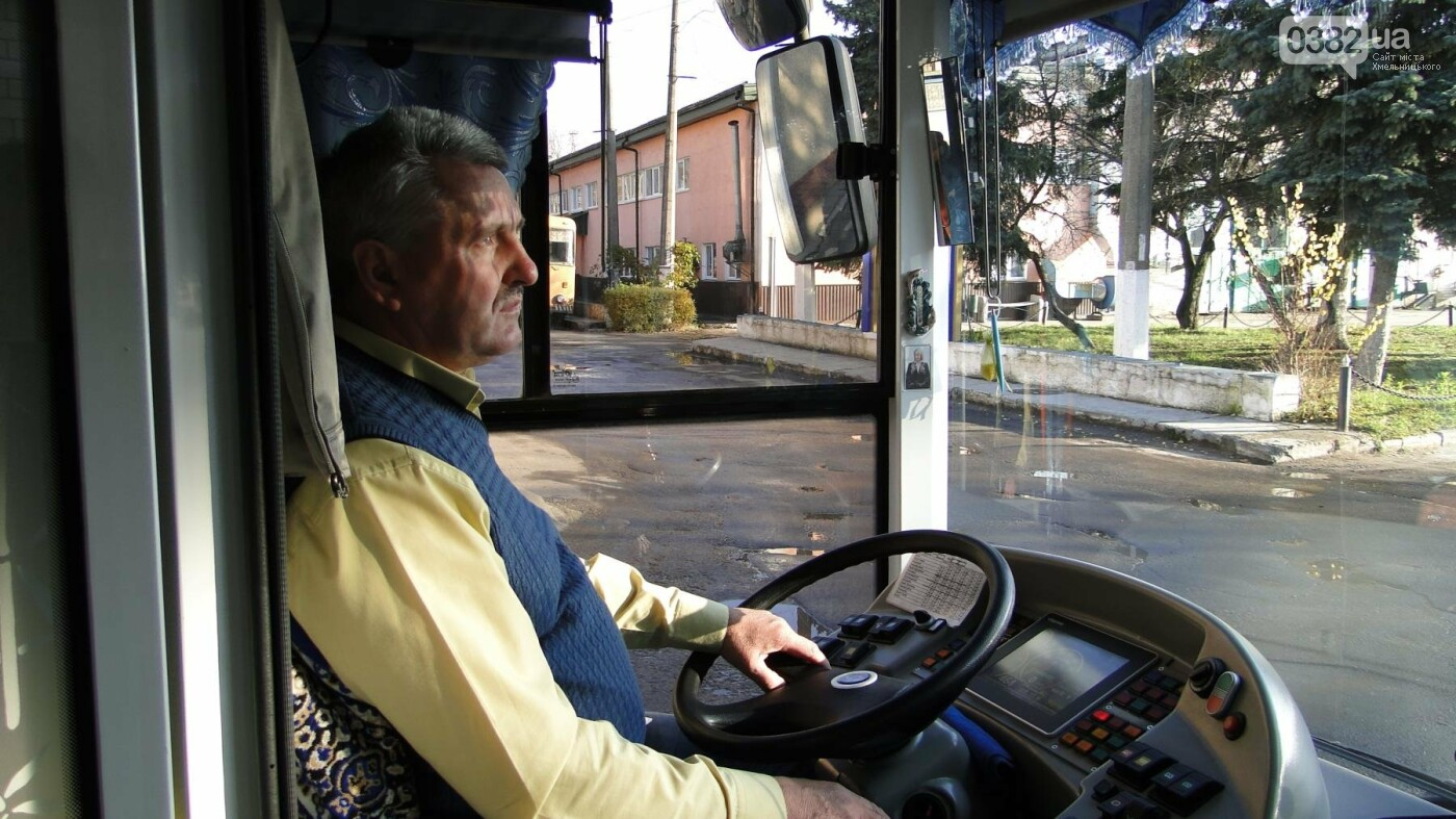 Моя професія — хмельничанин: водій тролейбуса, який возить хмельничан вже понад 30 років (Фото), фото-1