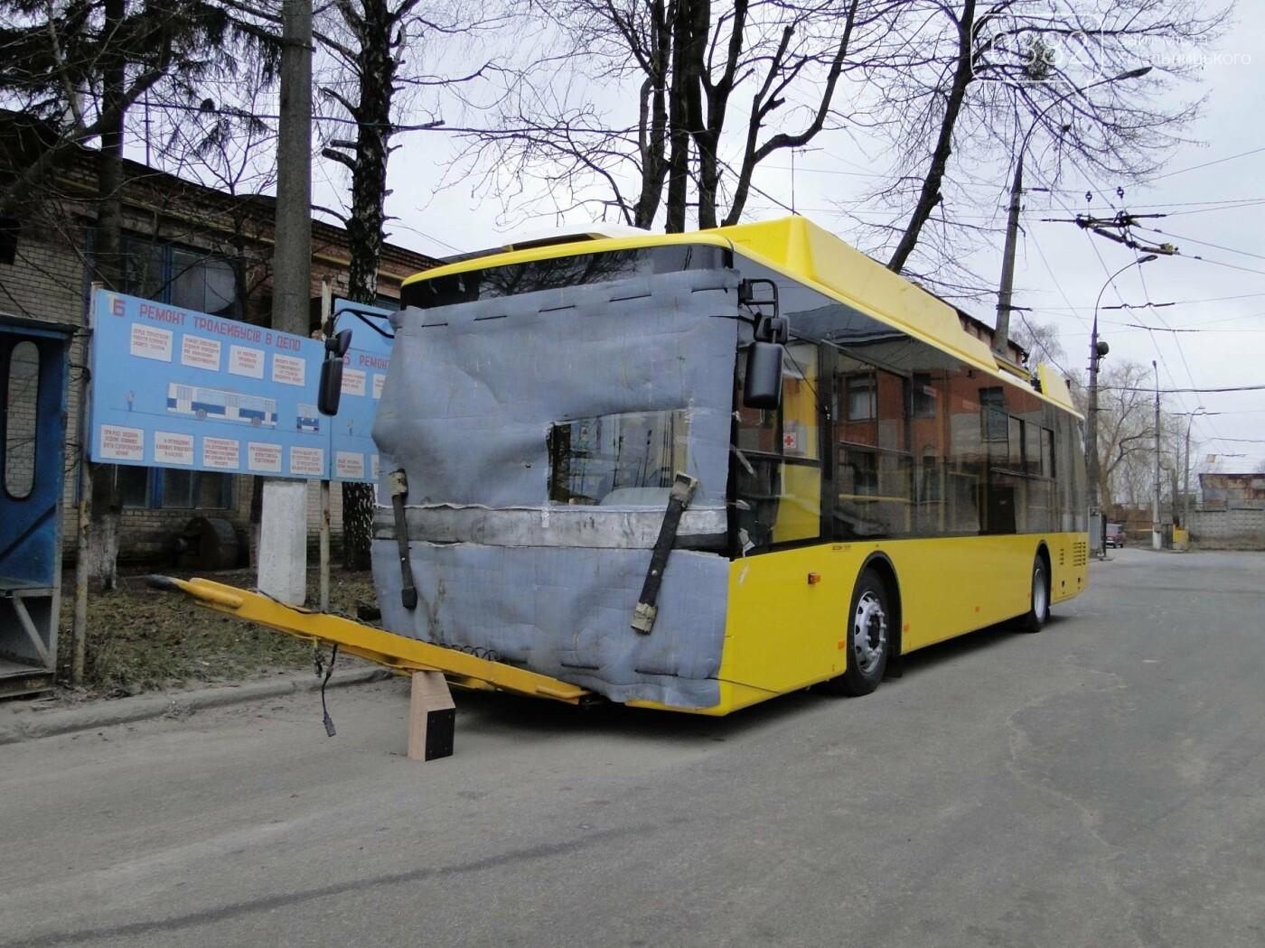 У Хмельницький прибула перша партія нових тролейбусів. ФОТО, фото-2