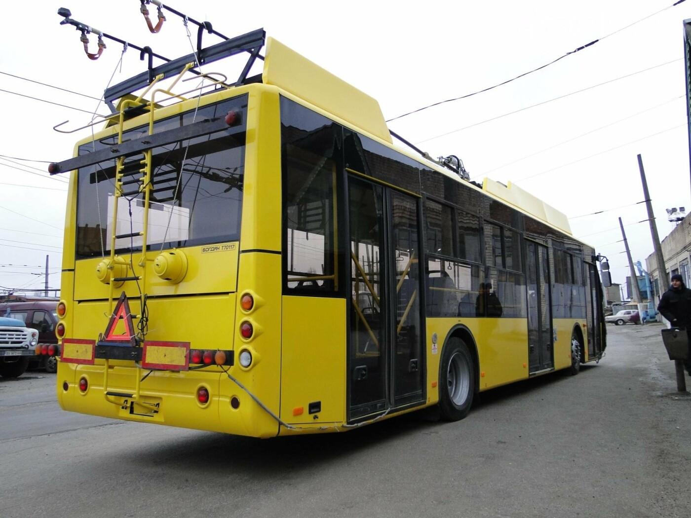 У Хмельницький прибула перша партія нових тролейбусів. ФОТО, фото-1