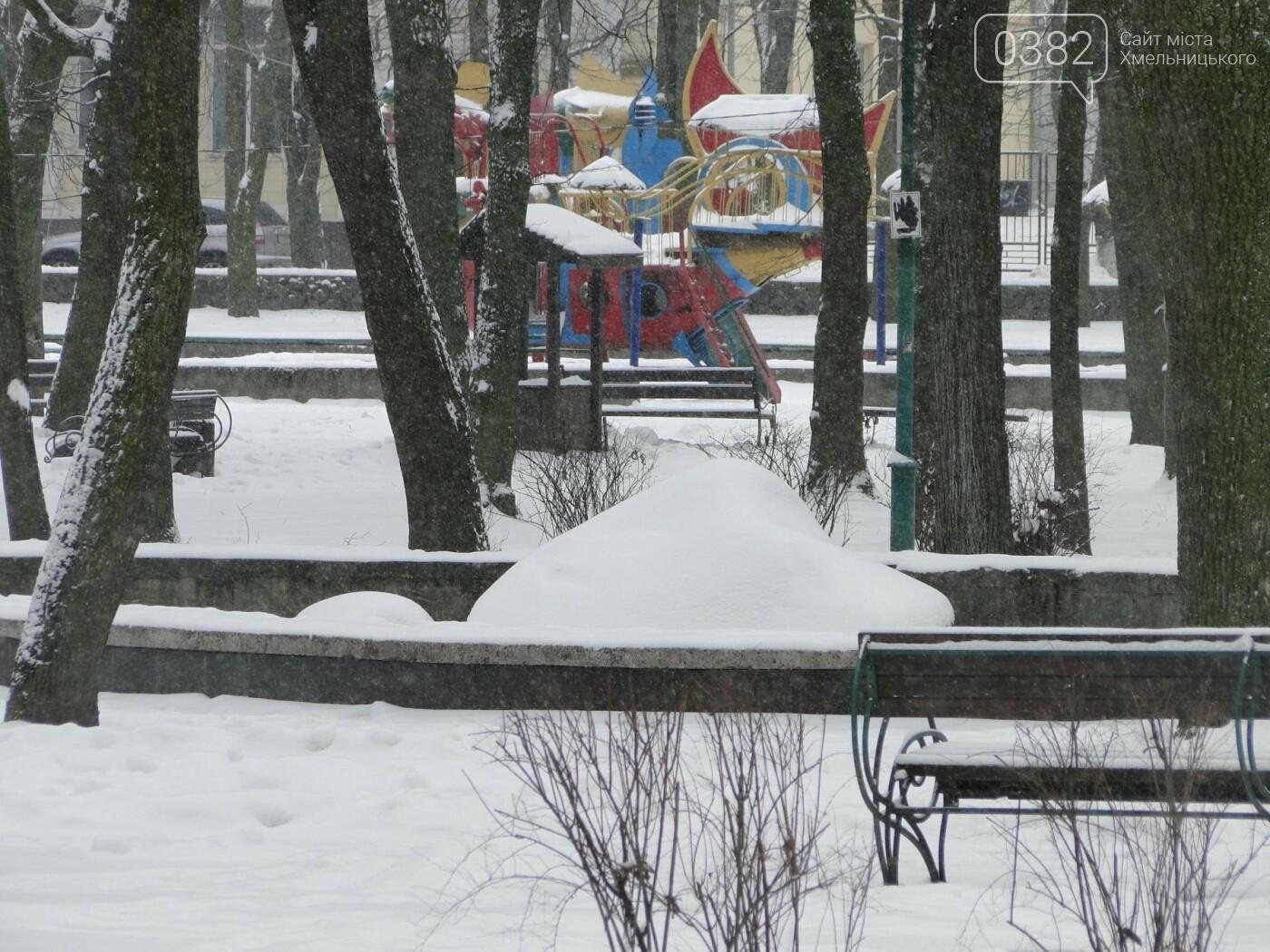 Засипало: пішки по Хмельницькому в останні дні лютого березня. ФОТО, фото-5