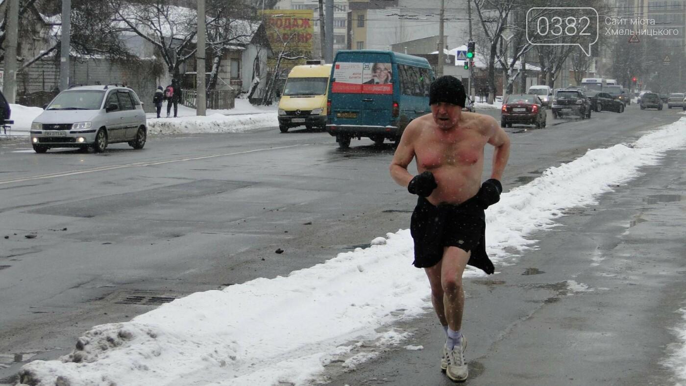 Засипало: пішки по Хмельницькому в останні дні лютого березня. ФОТО, фото-8