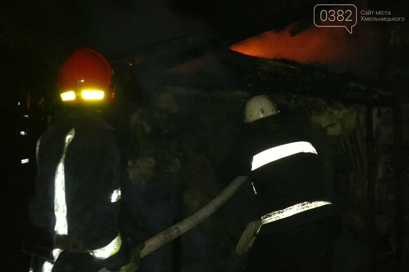 На Хмельниччині вогнеборці ліквідували пожежу житлового будинку, фото-1