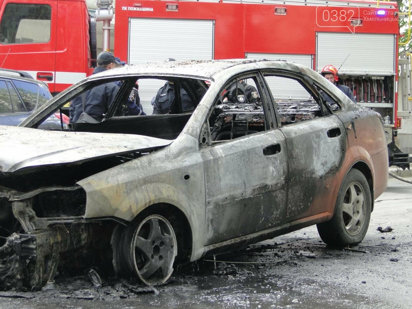 В центрі Хмельницького в результаті ДТП вщент згорів автомобіль. ФОТО, фото-7