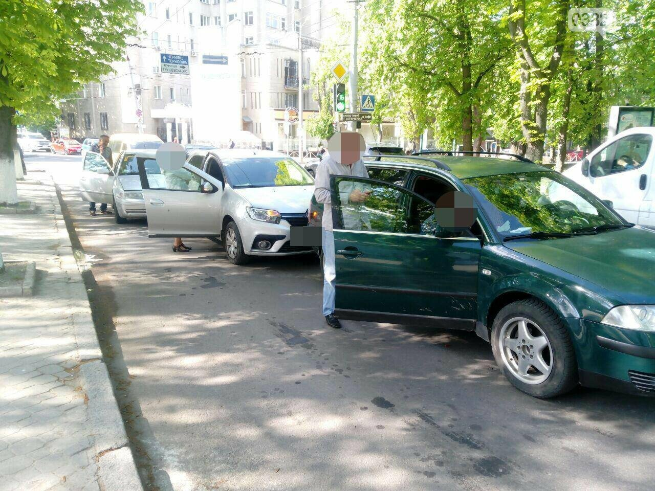 На вулиці Героїв Майдану сталася потрійна ДТП, фото-1