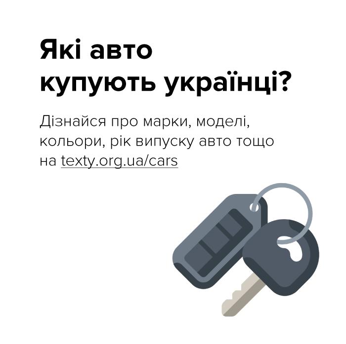 В Україні запустили сервіс на основі відкритих даних  про першу реєстрацію авто, фото-1