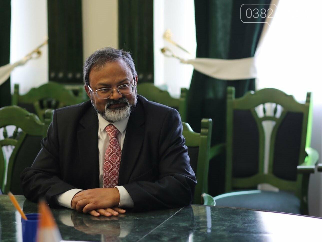 Посол Індії відвідав Хмельницький, фото-1