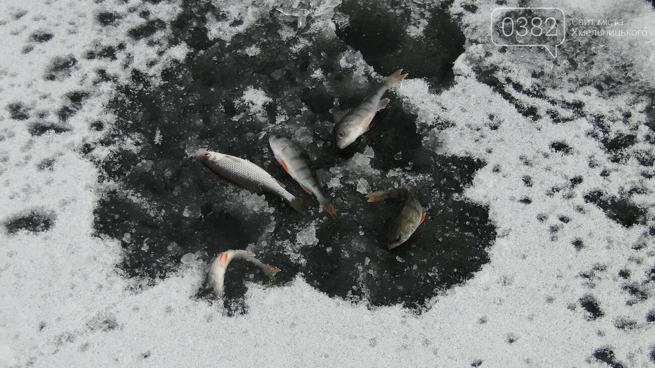 Теплий термос й хороша компанія: зимова рибалка у Хмельницькому, фото-3