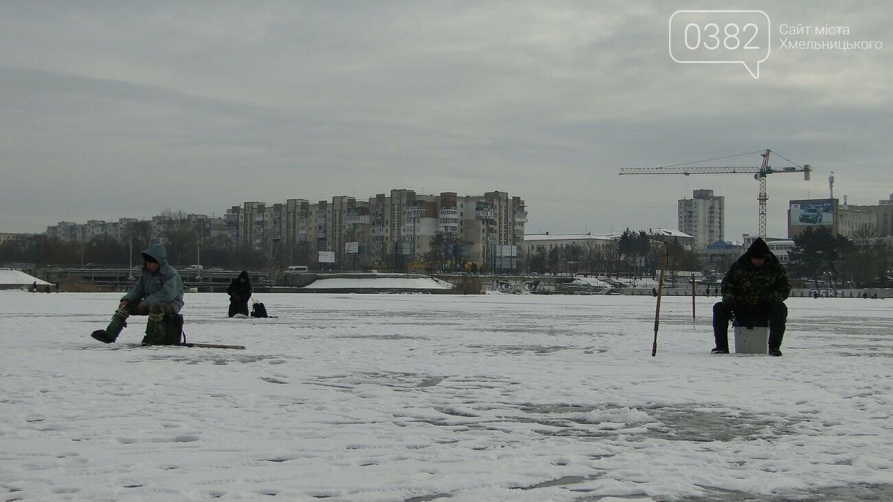 Теплий термос й хороша компанія: зимова рибалка у Хмельницькому, фото-4