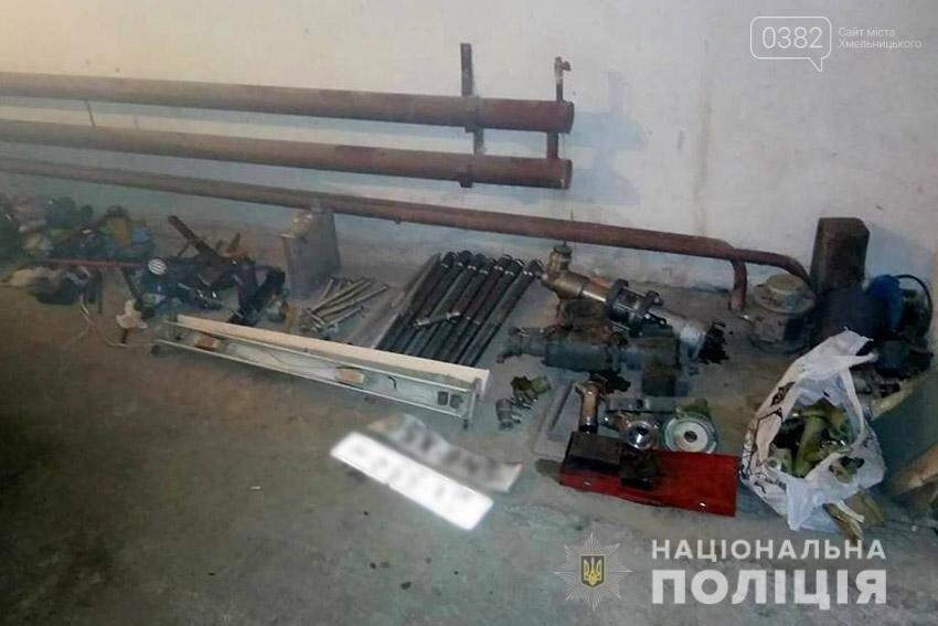На Хмельниччині наряд поліції охорони затримав серійних злодіїв-гастролерів із сусідньої Рівненщини, фото-2