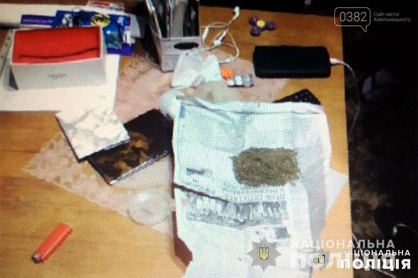 На Хмельниччині поліцейські затримали раніше судимого чоловіка, який займався збутом наркотиків , фото-1