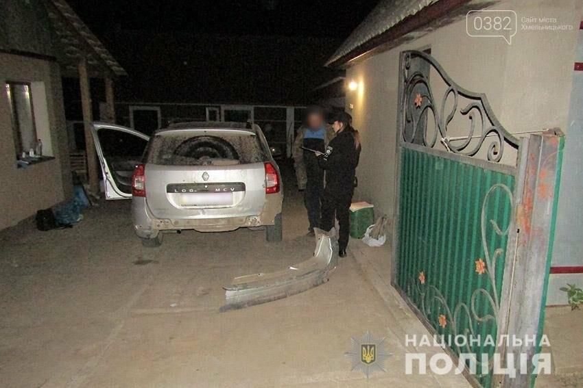 На Хмельниччині п'яний чоловік вкрав автомобіль та влаштував нічні перегони з поліцією (фото), фото-3