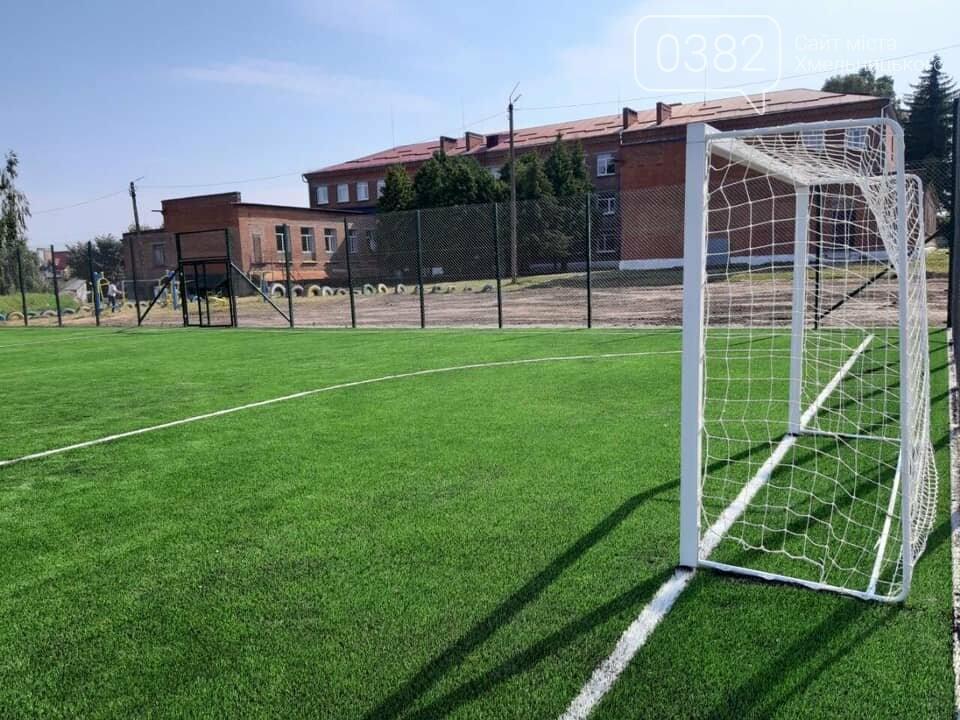 В Хмельницькому активно будують нові спортивні майданчики, фото-1