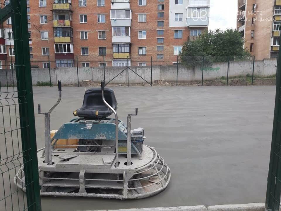 В Хмельницькому активно будують нові спортивні майданчики, фото-3