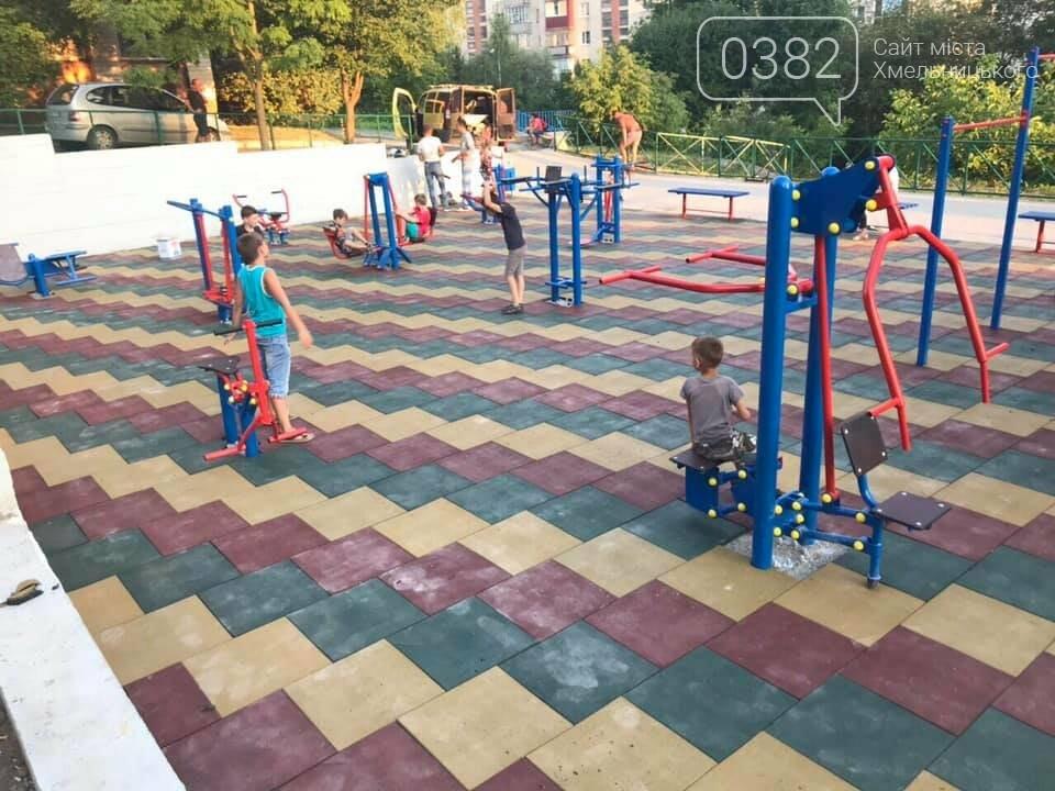 В Хмельницькому активно будують нові спортивні майданчики, фото-4