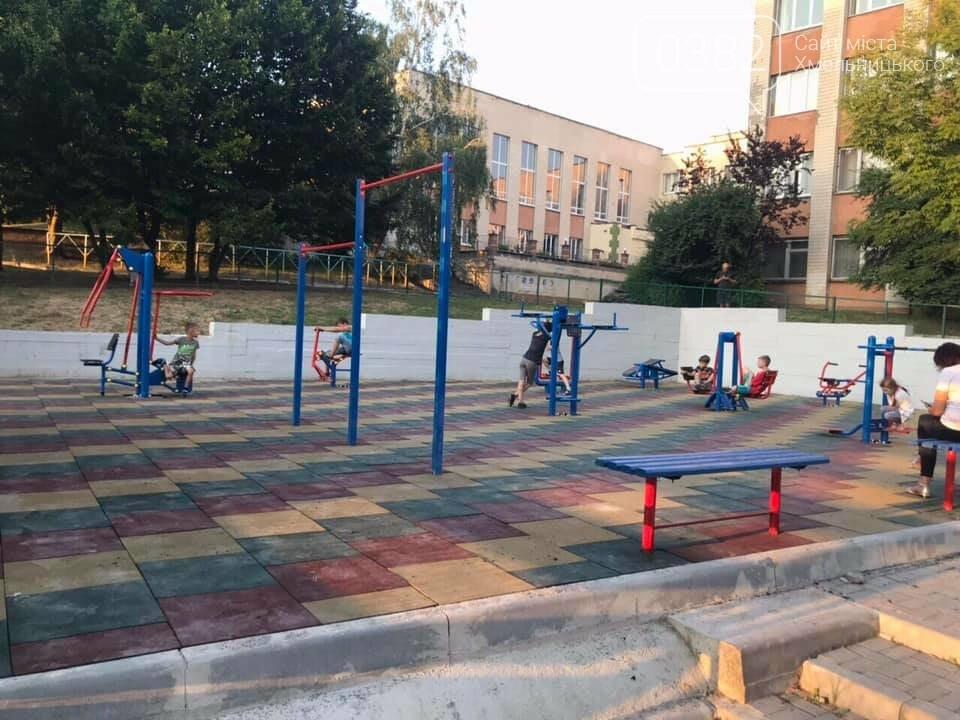 В Хмельницькому активно будують нові спортивні майданчики, фото-5