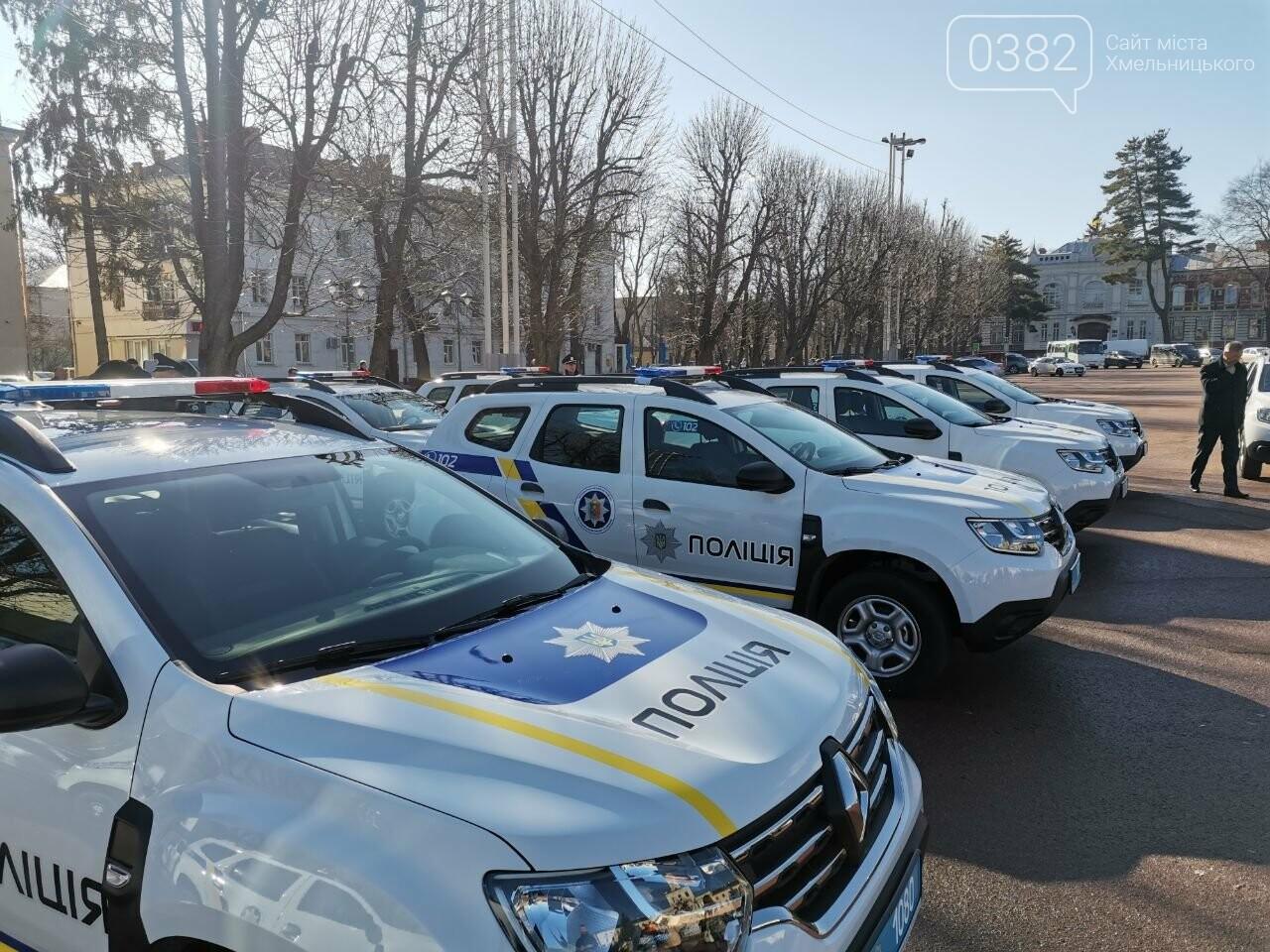 Хмельниччині вручили 43 поліцейських авто Renault Duster, фото-1