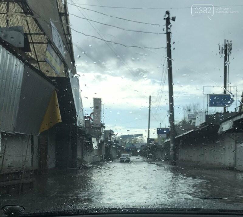 У Хмельницькому травневий дощ затопив речовий ринок, фото-3