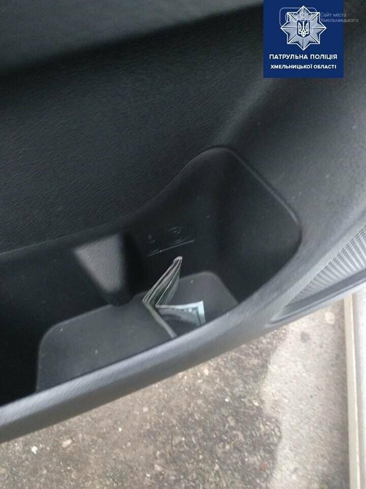 Нетверезий водій запропонував хмельницьким патрульним кошти, щоб уникнути відповідальності, фото-1