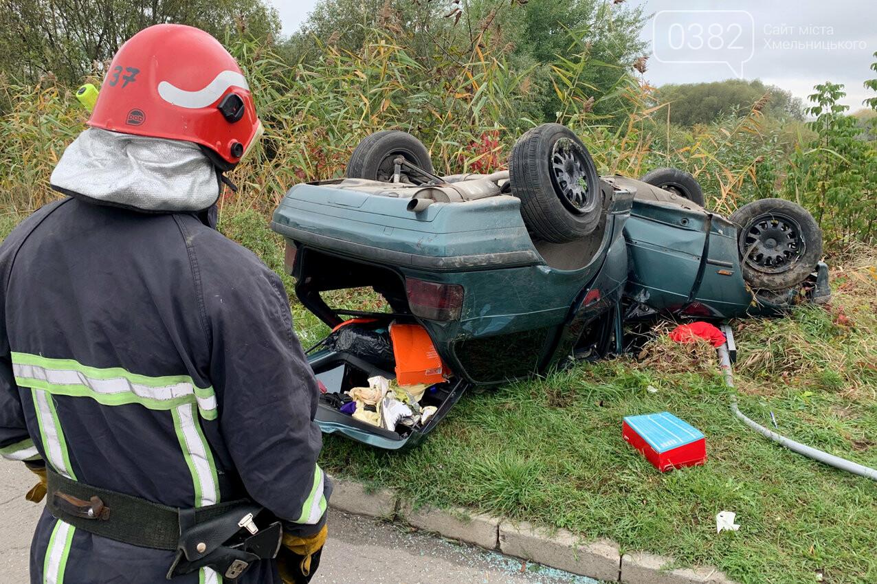 У Хмельницькому в ДТП травмовано дві людини, фото-3