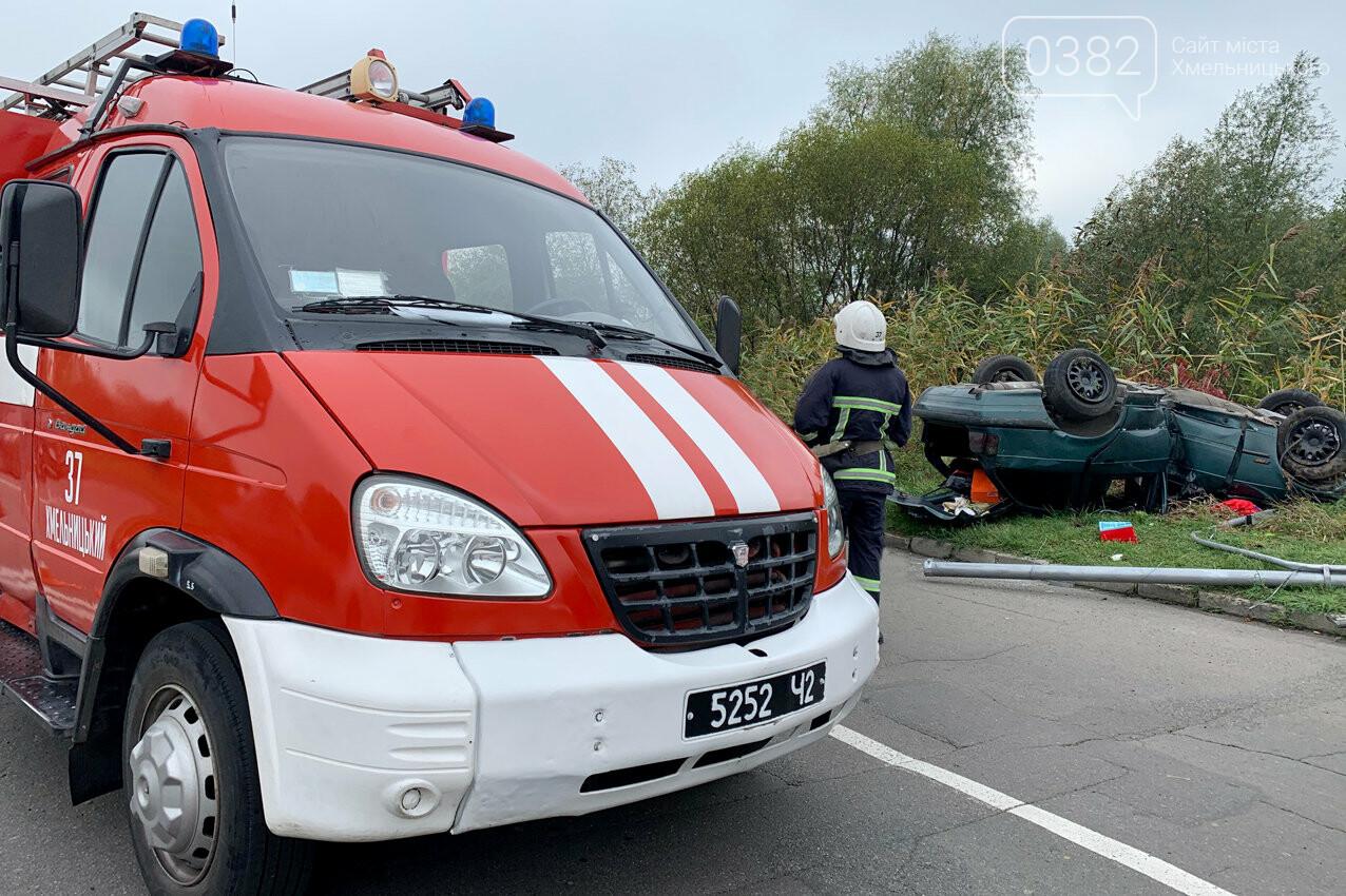 У Хмельницькому в ДТП травмовано дві людини, фото-4