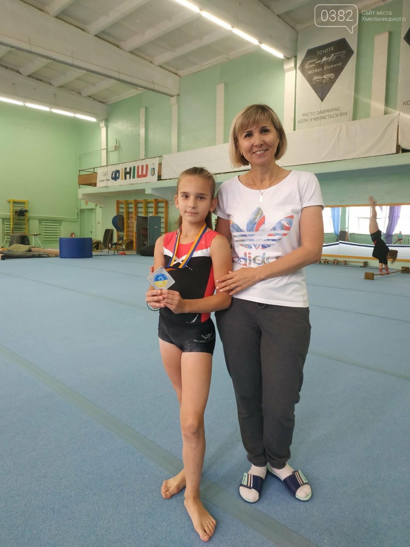 Хмельничанка зійшла на п'єдестал всеукраїнських змагань зі спортивної гімнастики, фото-3