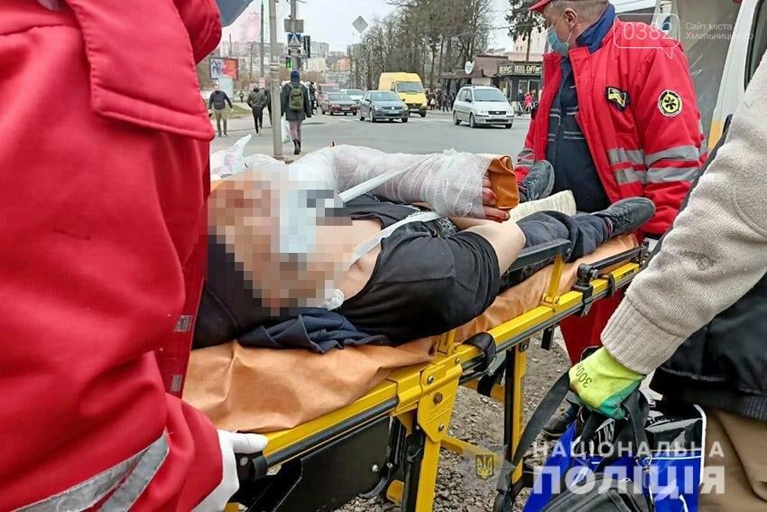 У Хмельницькому чоловік потрапив під колеса тролейбуса, фото-2