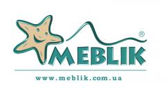 Логотип - Meblik, салон дитячих і молодіжних меблів в Меблi для дома