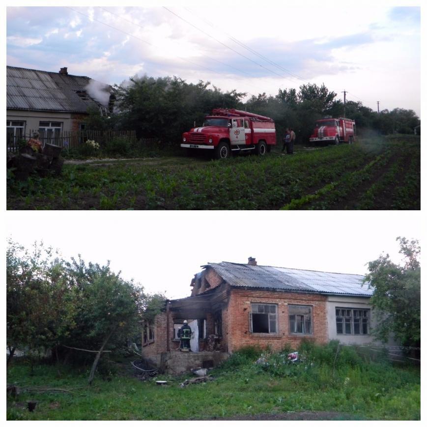 Хмельниччина: під час пожежі в будинку загинув чоловік (ФОТО, ВІДЕО), фото-1