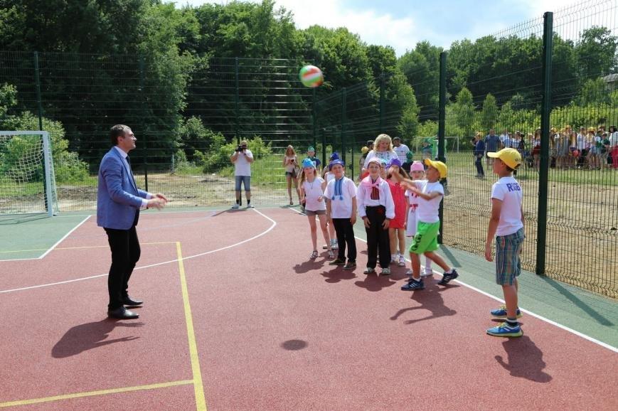 У хмельницькій «Чайці» дітей зустрів новий спортивний майданчик (Фото), фото-1