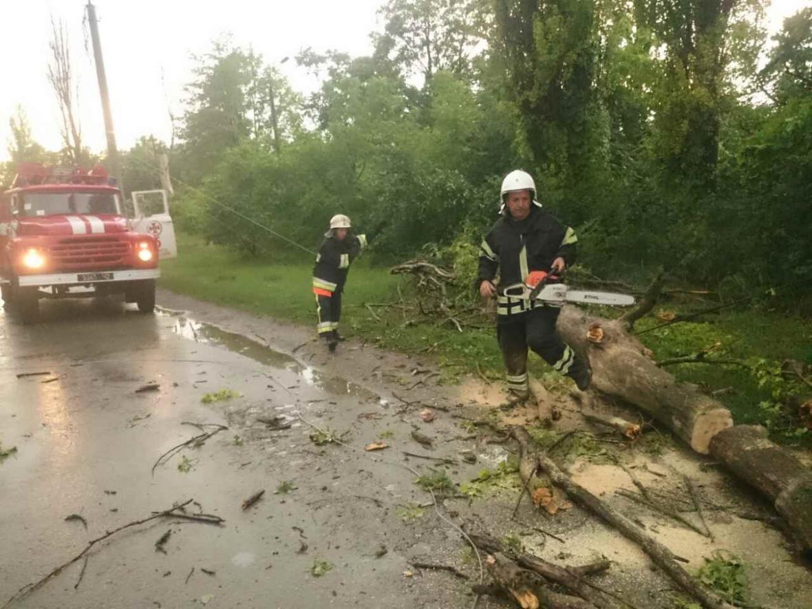 Негода: на Хмельниччині знеструмлені 35 населених пунктів, розтрощені авто, затоплені вулиці, фото-3
