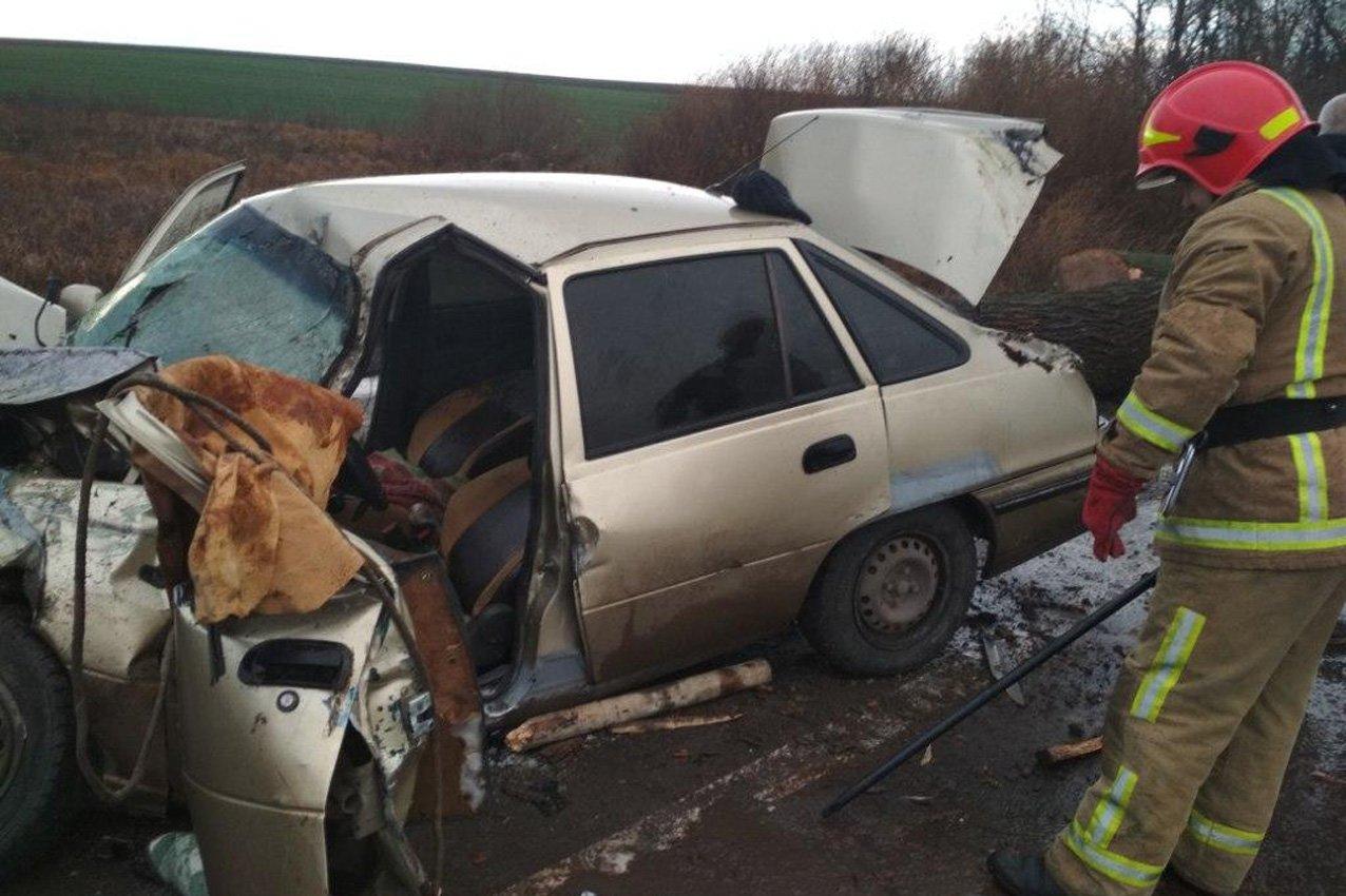 На Хмельниччині причеп врізався в автомобіль: двоє потерпілих  , фото-2