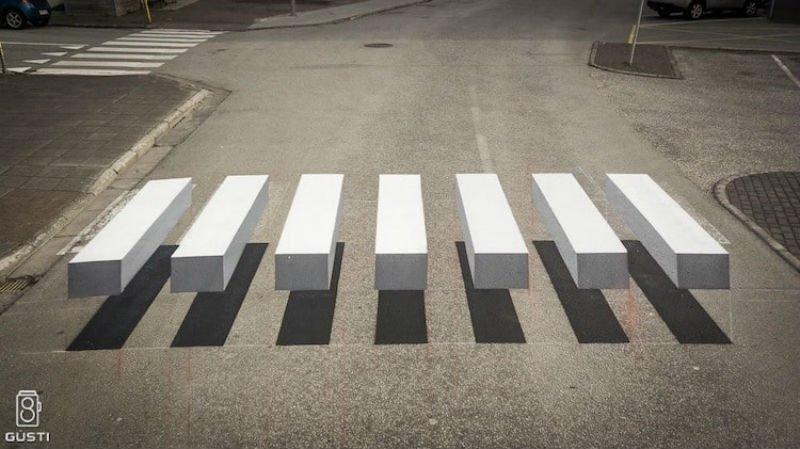 Ти не зіб'єш: 3D-зебра не дає водіям вбивати пішоходів, фото-2