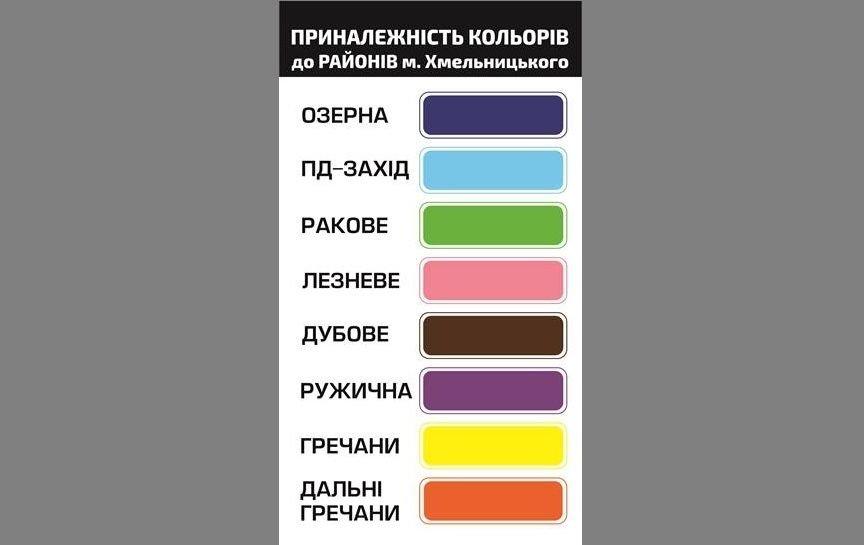 Транспортна реформа: для мікрорайонів призначили унікальні кольори трафаретів на маршрутках, фото-1