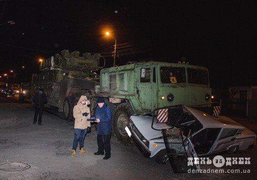 На Хмельниччині сталася ДТП за участі військової автоколони. ФОТО, фото-2