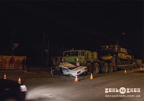 На Хмельниччині сталася ДТП за участі військової автоколони. ФОТО, фото-3