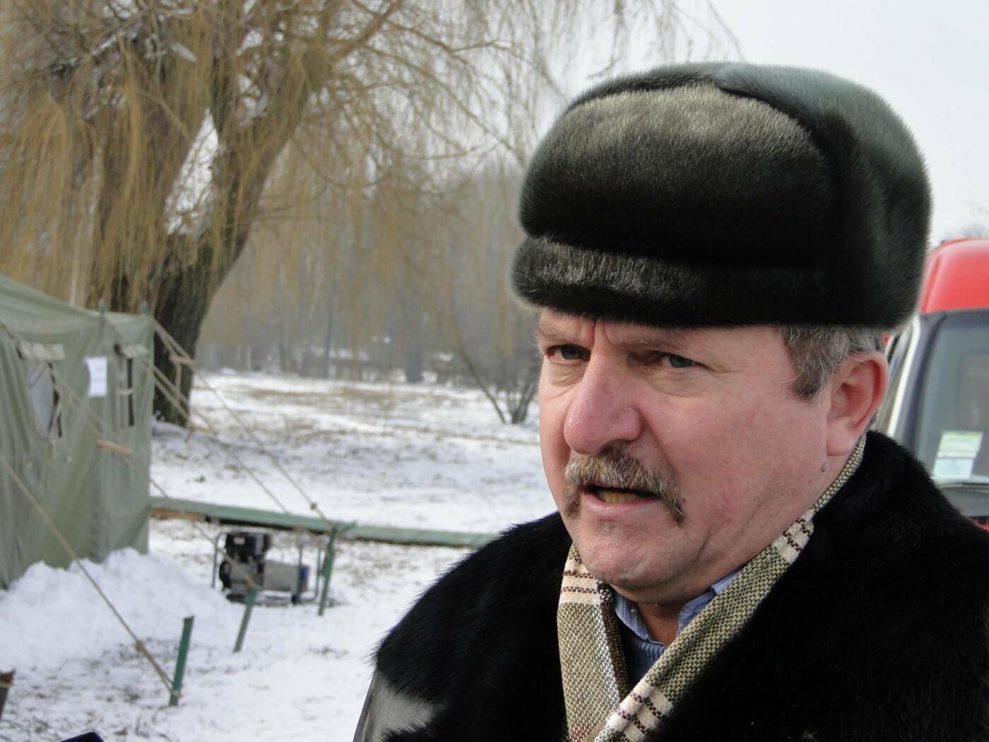 Через тонку кригу, на Водохреща у Хмельницькому в ополонку пірнатимуть з пірса. ФОТО. ВІДЕО, фото-1