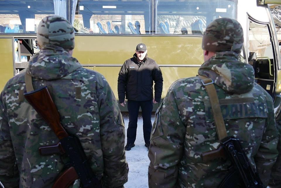 Ротація в зоні АТО: з Хмельницького на Схід відправилися правоохоронці. ФОТО, фото-2