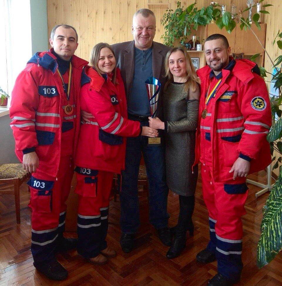 Подільські медики стали першими у Всеукраїнських змаганнях, фото-3