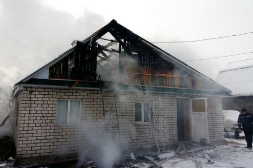 На Хмельниччині згорів приватний будинок. ФОТО, фото-1