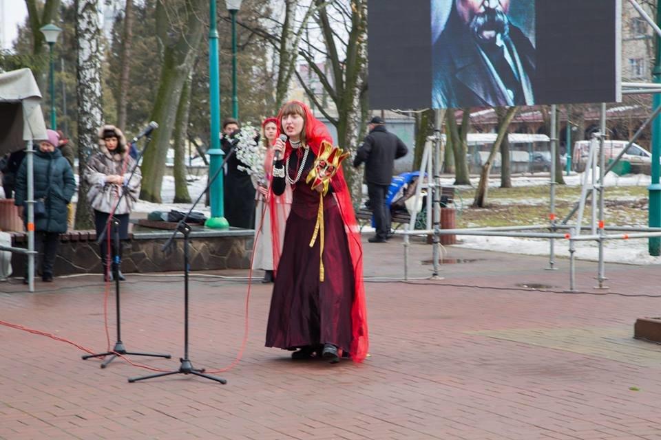 Хмельничани  вшанували Великого Кобзаря. ФОТО, фото-2