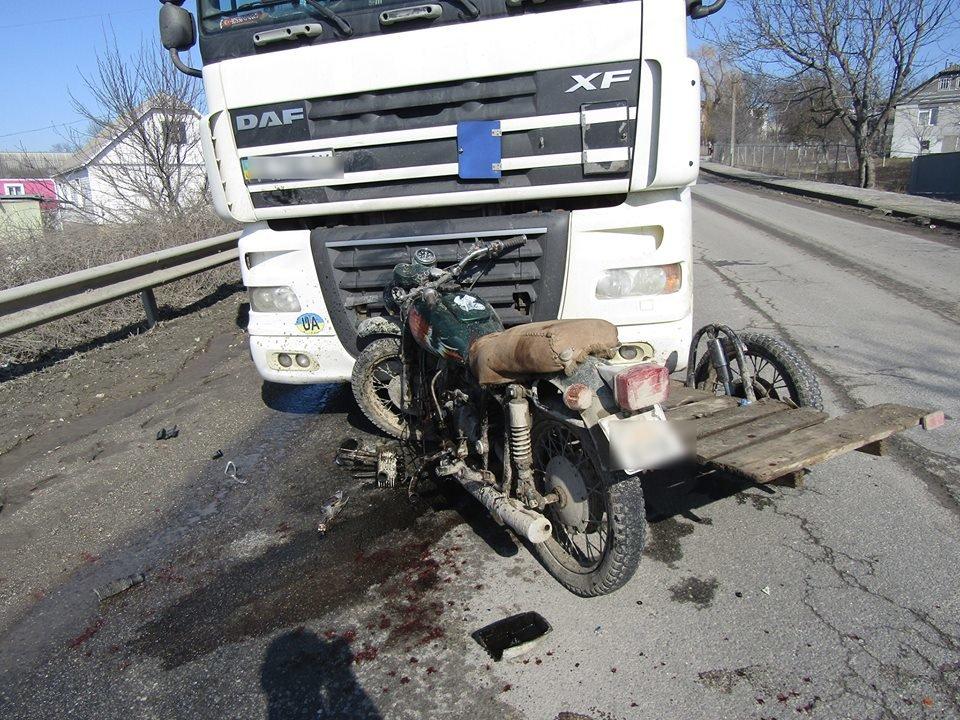 На Хмельниччині мотоцикліст скоїв потрійне ДТП. ФОТО, фото-1