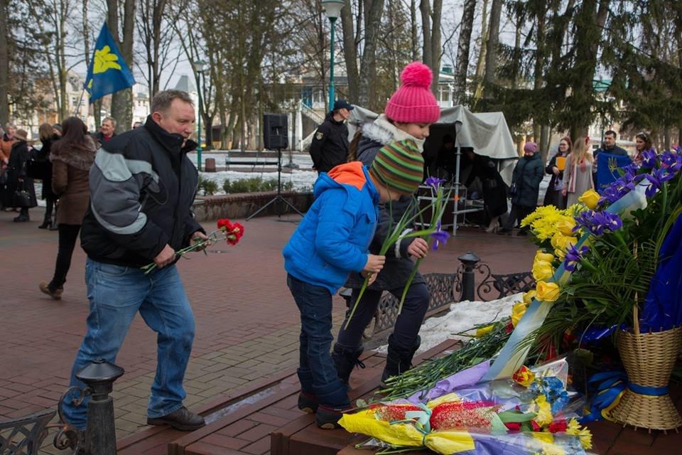 Хмельничани  вшанували Великого Кобзаря. ФОТО, фото-7