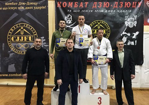 Хмельницька збірна посіла перше командне місце на чемпіонаті з Комбат Дзю-Дзюцу, фото-1