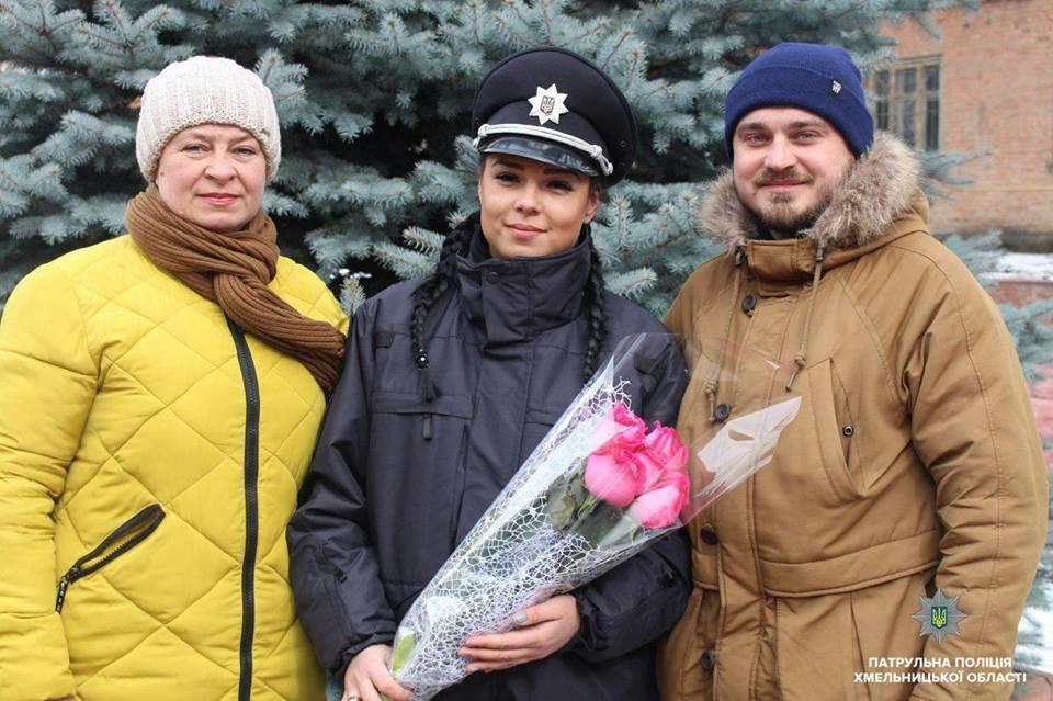 Патрульну поліцію Хмельниччини поповнили 20 новобранців, фото-1