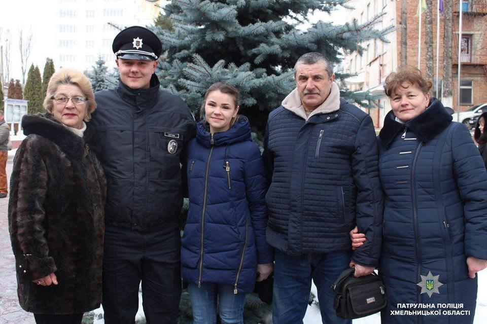 Патрульну поліцію Хмельниччини поповнили 20 новобранців, фото-3