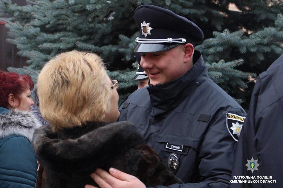Патрульну поліцію Хмельниччини поповнили 20 новобранців, фото-4